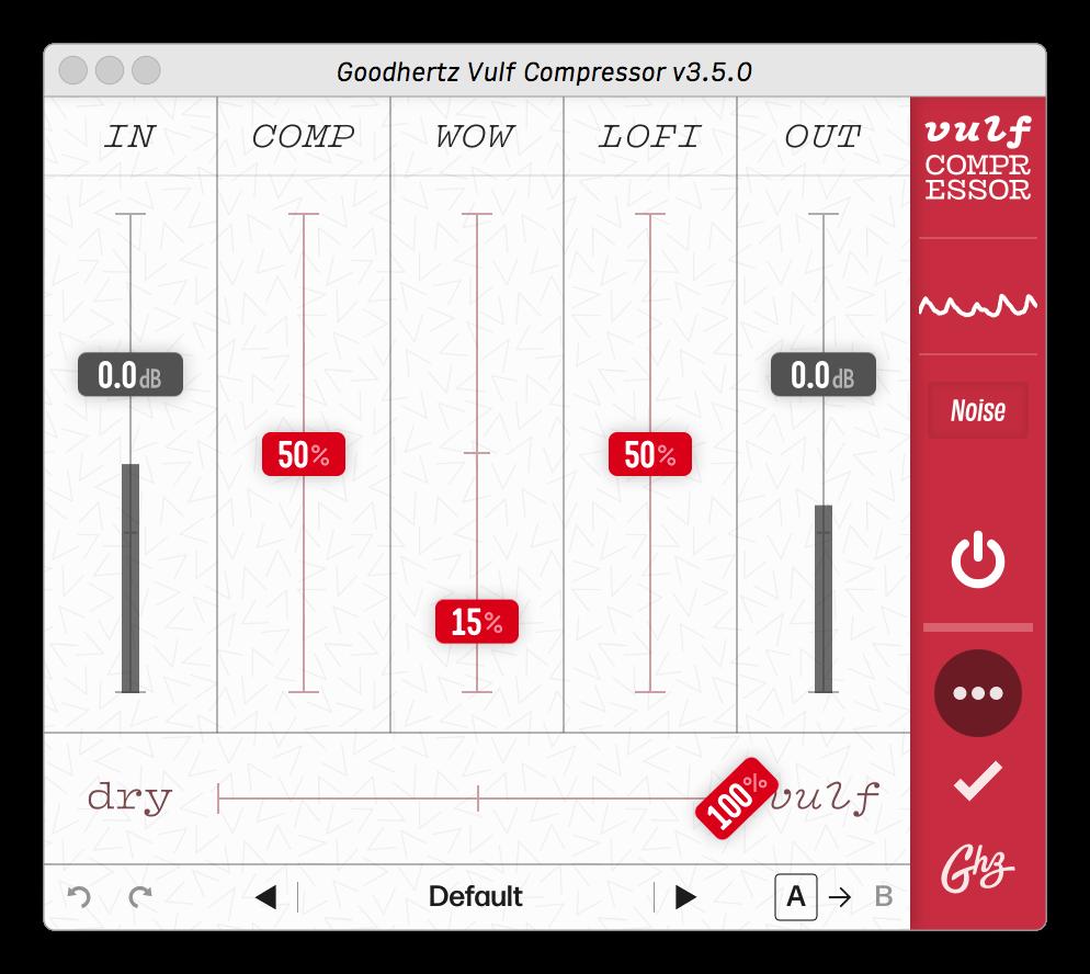 Vulf Compressor By Goodhertz Inc